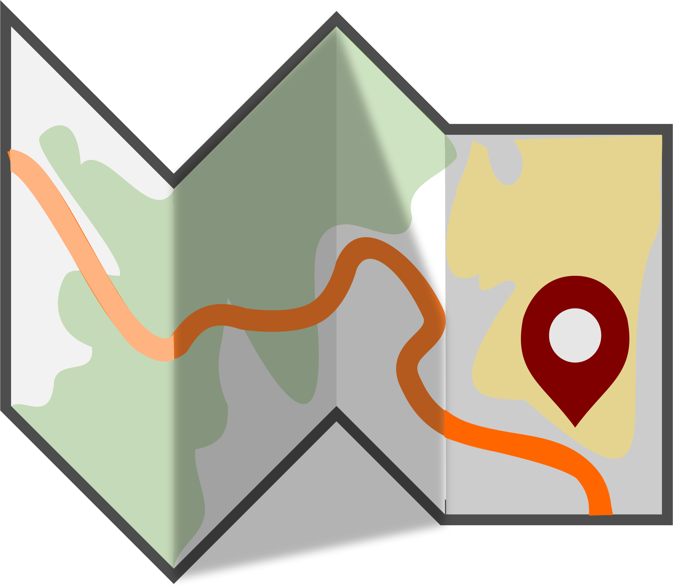 2256x1968 Top Map Clip Art Free Clipart Image