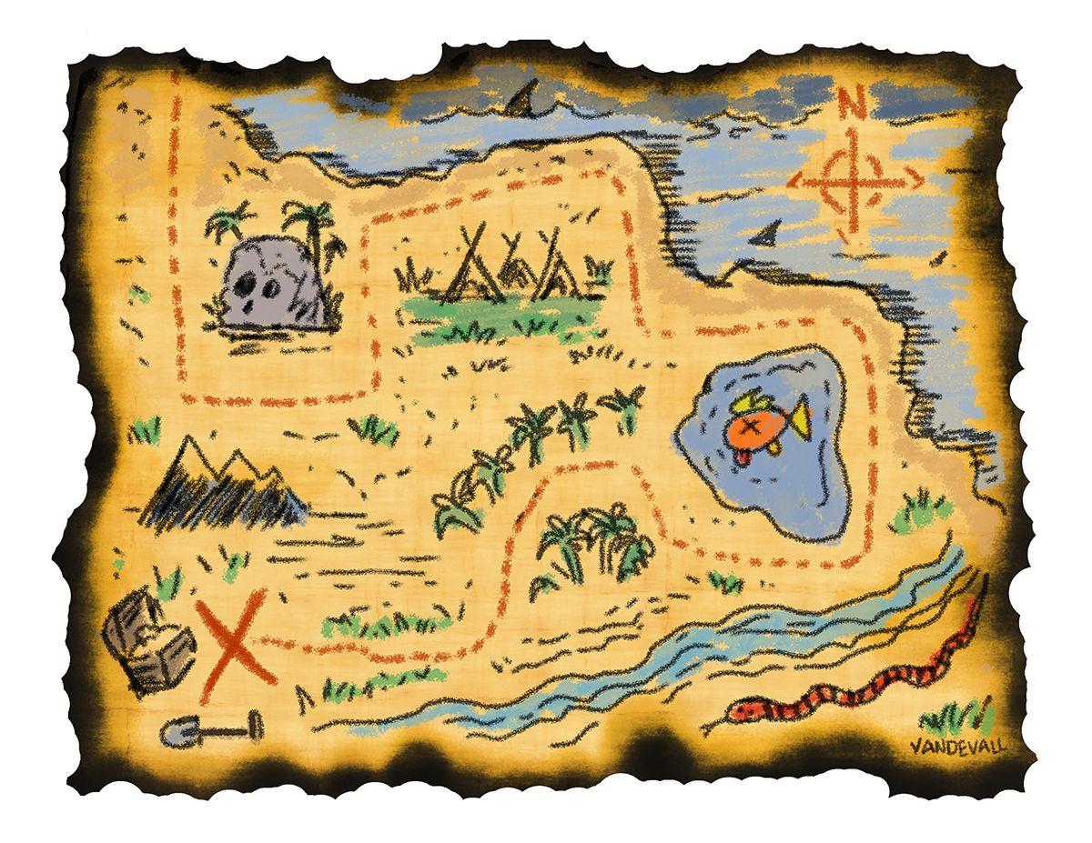 1200x927 Printable Treasure Maps For Kids Kidding Around