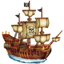 260x260 Ship Piracy Clip Art