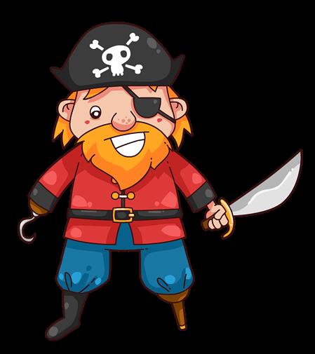 449x505 Pirate Clip Art