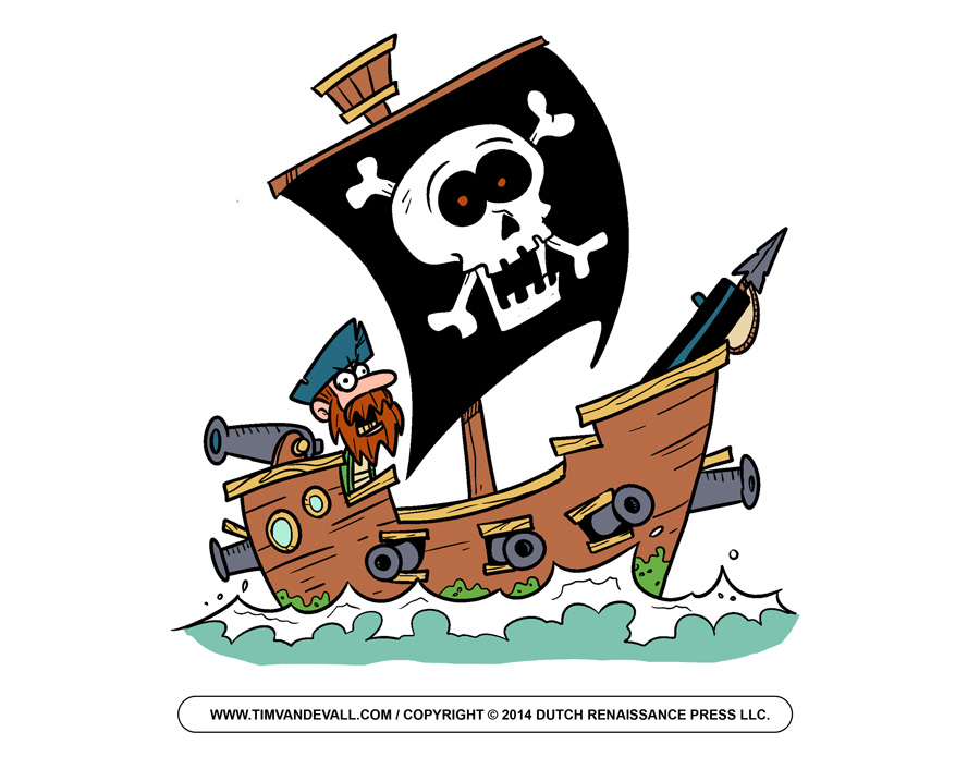 900x695 Cartoon Pirate Ship Clipart Kid 2