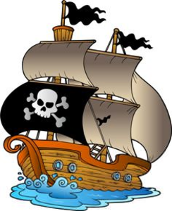 244x300 Clipart Pirate Ship Free Images