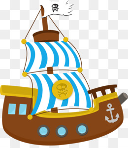 260x300 Ship Piracy Clip Art