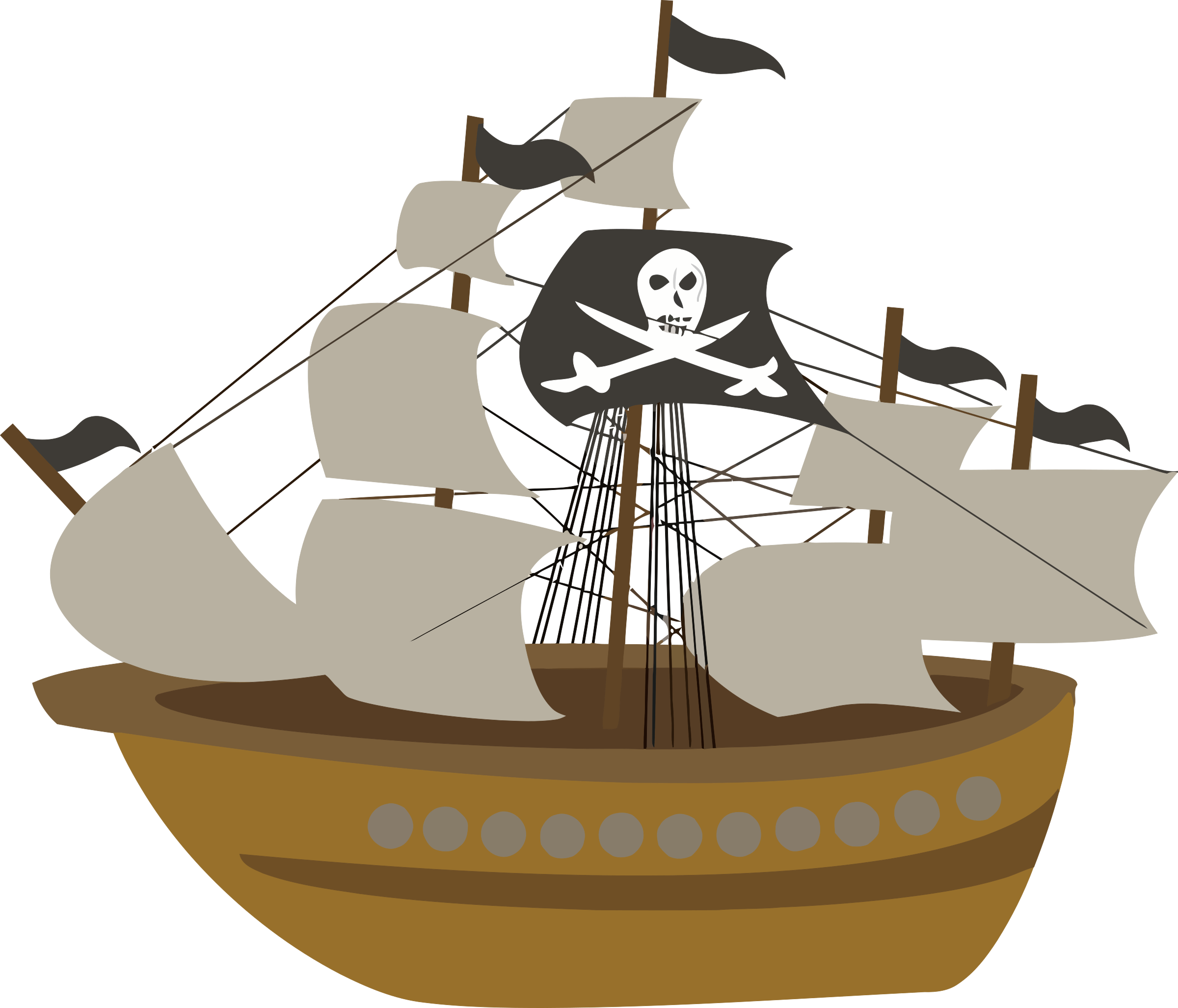 pirate ship clipart free at getdrawings com free for personal use rh getdrawings com