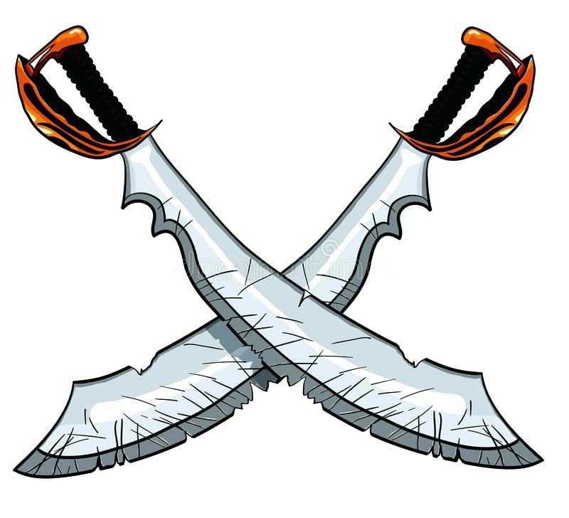 800x728 Pirate Sword Clip Art Crossed Cutlass Pirate Sword Vector