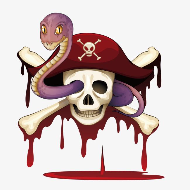 650x651 Vector Skeleton Snake, Skeleton, Pirate, Decoration Png And Vector