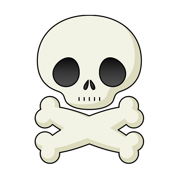 Pirate Skull Clipart
