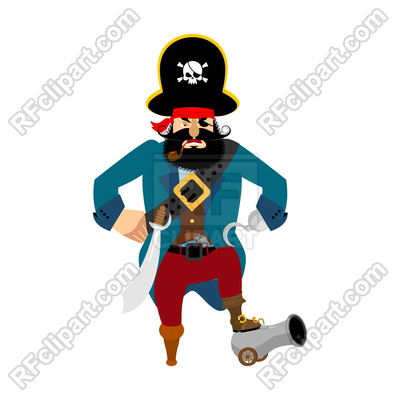 400x400 Pirate Clipart Angry 3797022