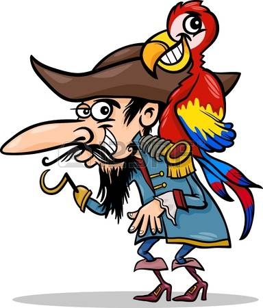 384x450 Pirate Clipart Silly