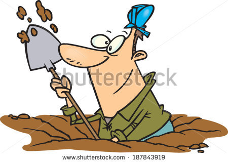 450x322 Clipart Man Digging Amp Clip Art Man Digging Images