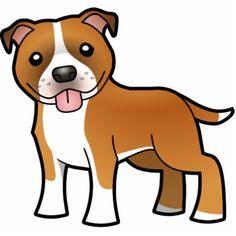 236x236 Clip Art Of A Pitbull Puppy