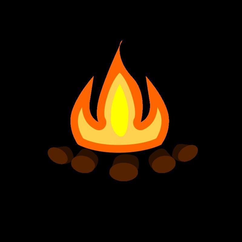 800x800 Bonfire Clipart Fire Pit