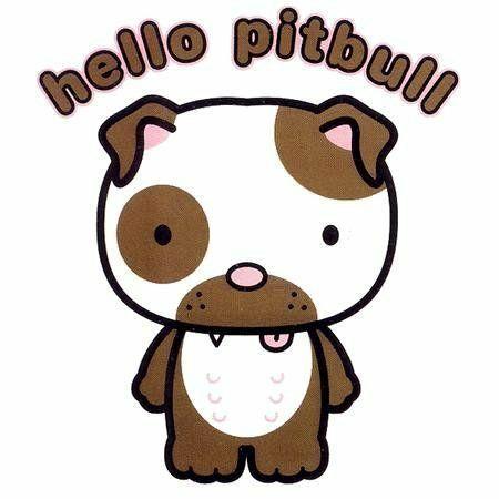 450x450 Cartoon Pitbull