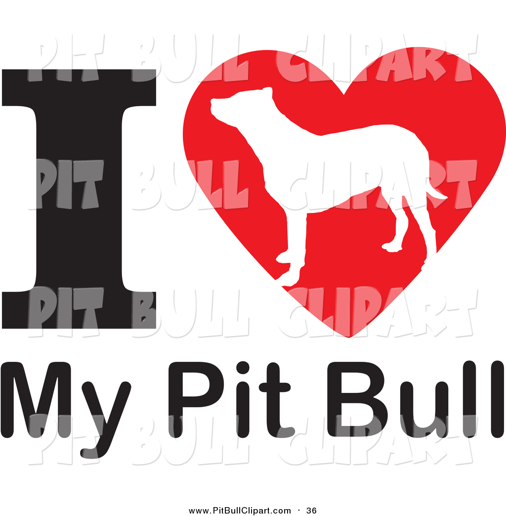 1024x1044 Clip Art Of A I Heart My Pit Bull Dog Design By Johnny Sajem