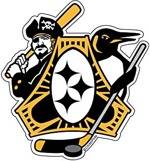 298x320 Pittsburgh Sport Teams Combined Logo Personalized