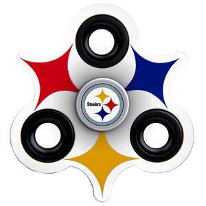 300x300 Pittsburgh Steelers 3 Prong Logo Fidget Spinner Nfl Forever