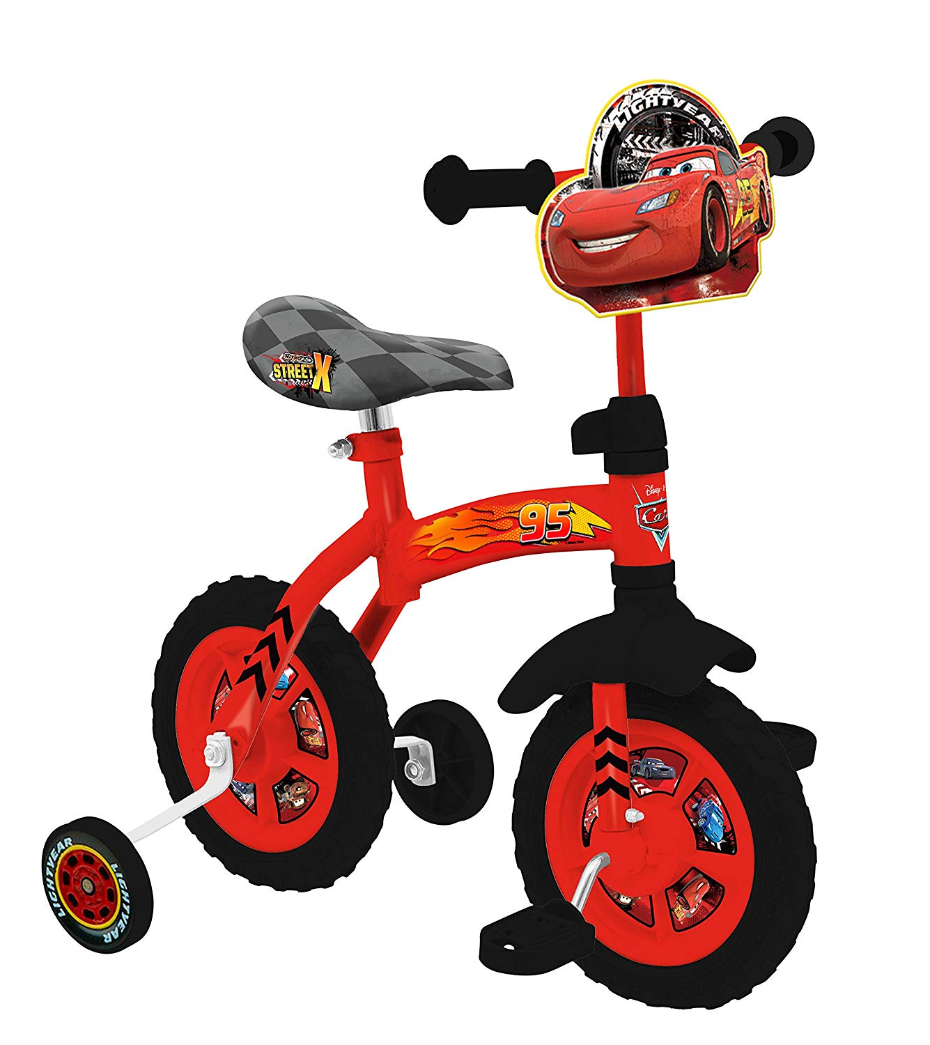 1335x1500 Disney Cars 10 Inch 2 In 1 Training Bike Amazon.co.uk Toys Amp Games