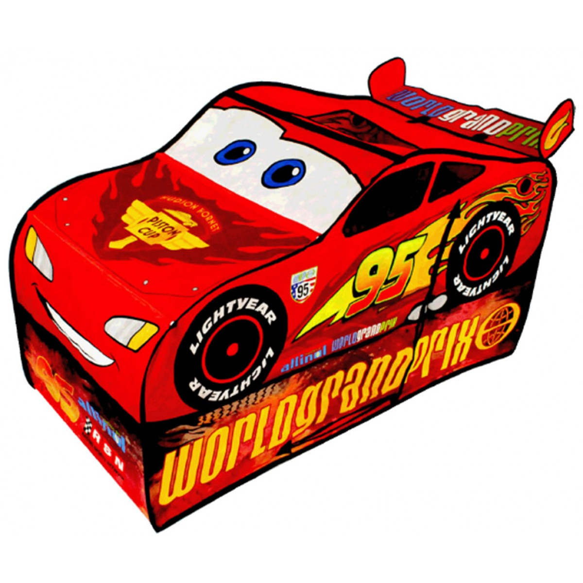 1200x1200 Disney Pixar Cars Lightning Mcqueen Vehicle Play Tent