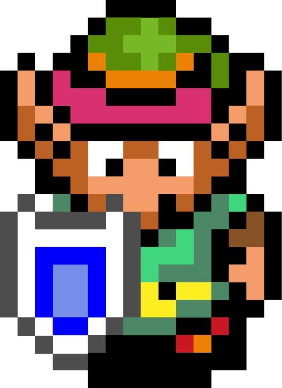 576x791 Pixel Clipart Zelda 3799671