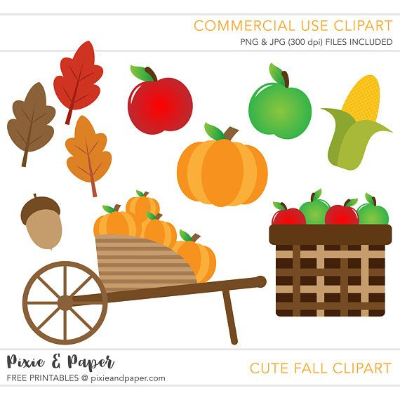 570x570 Commercial Use Clipart, Commercial Use Clip Art, Fall Clipart