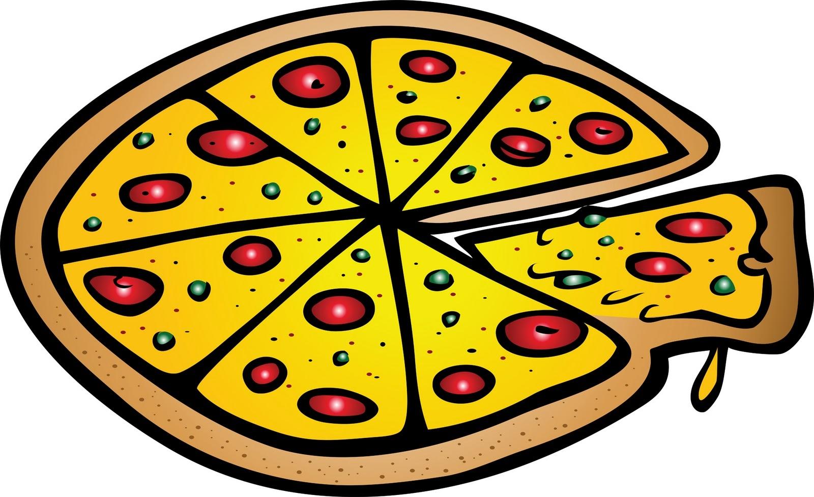 1600x976 Fresh Pizza Clipart Design