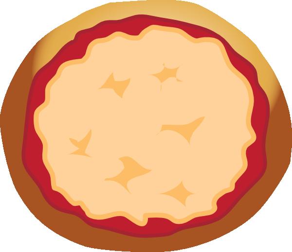 600x519 Pizza Plain Clip Art