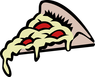 400x324 Pizza Clipart Clear Background