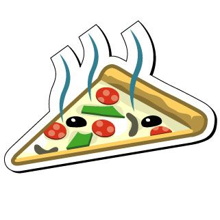 321x322 Nice Clip Art Pizza Clip Art