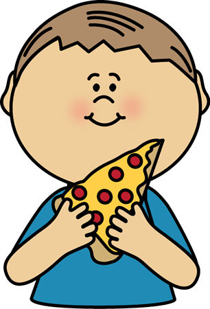 306x450 Eating Clipart Pizza