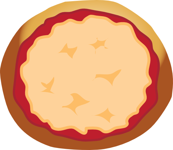 600x519 Cheese Pizza Clipart Pizza Plain Clip Art