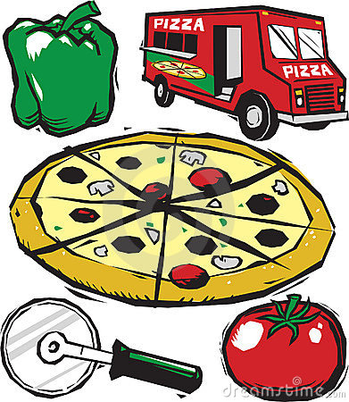 391x450 Pizza Party Clipart Free