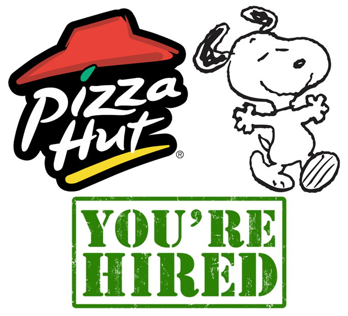 685x621 Pizza Hut Will Be Hiring Snoopy And Peanuts Gang By Tylerleejewell