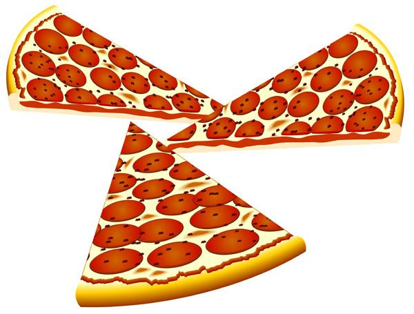 600x455 The Top 5 Best Blogs On Pizza Slice Clip Art Vector