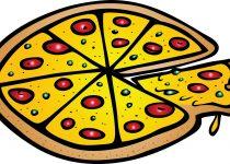210x150 Clip Art Clip Art Of Pizza