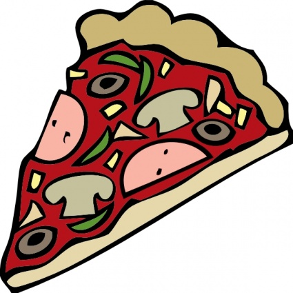 425x425 Free Download Of Pizza Slice Vector Graphics And Illustrations