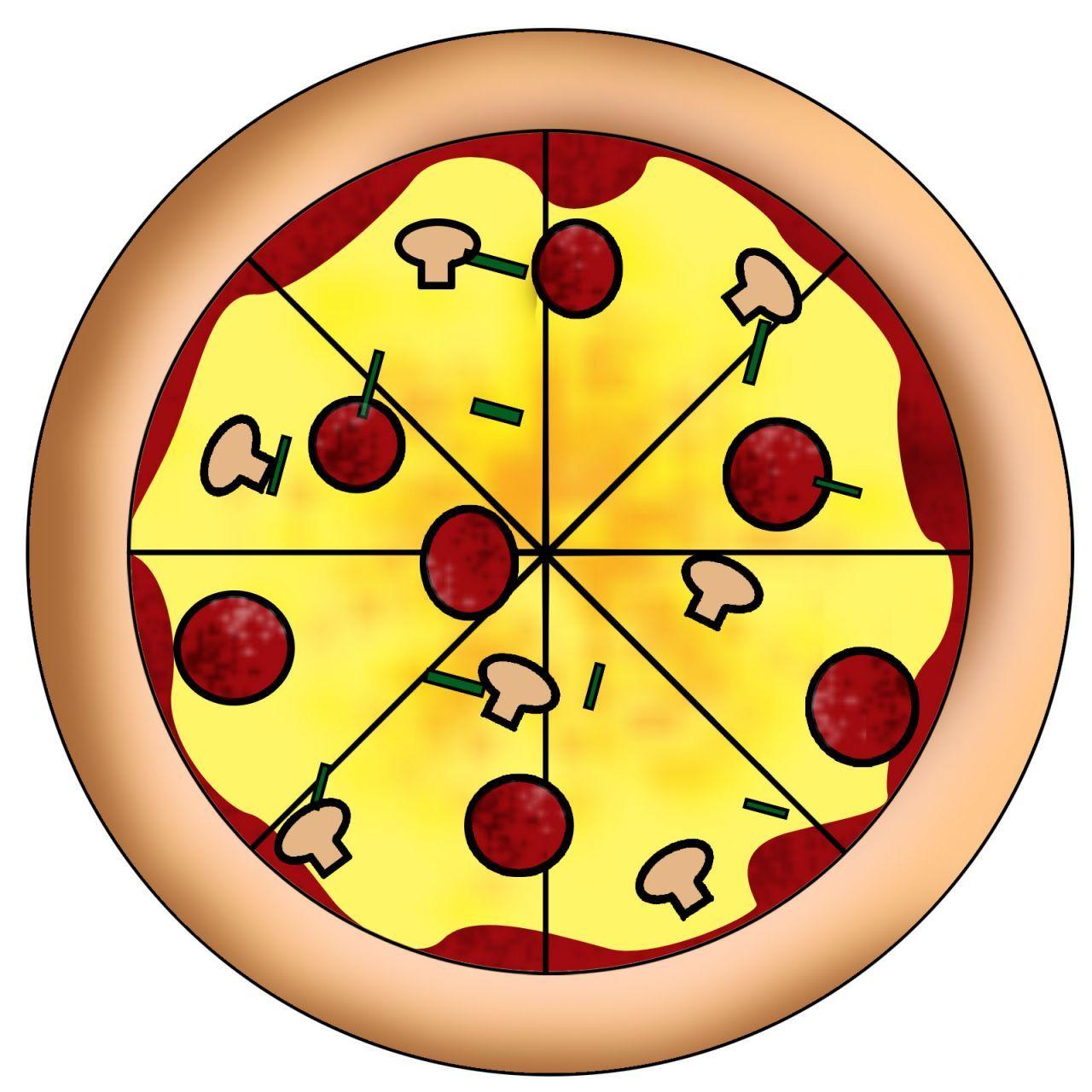 1280x1280 Pizza Pie Clip Art Clipart Panda