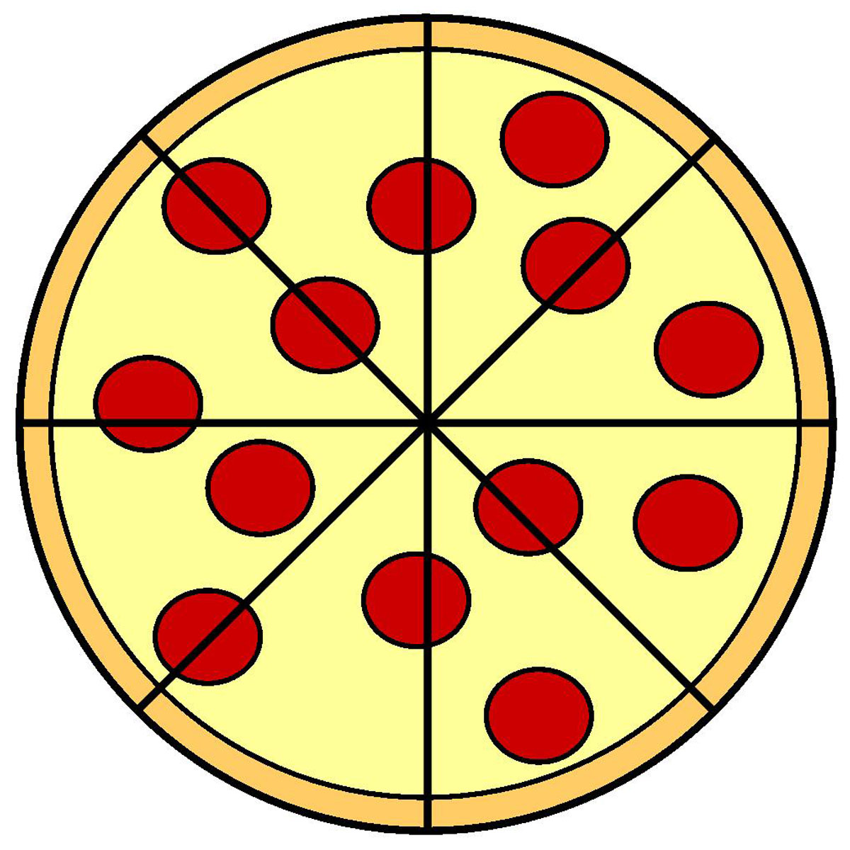 1200x1200 Clip Art Clip Art Pizza