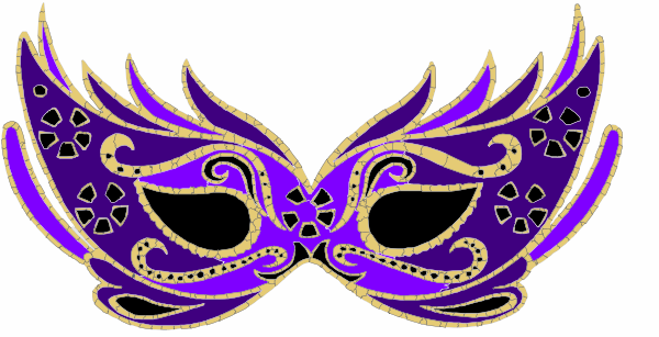 600x307 Collection Of Masquerade Mask Clipart Png High Quality, Free