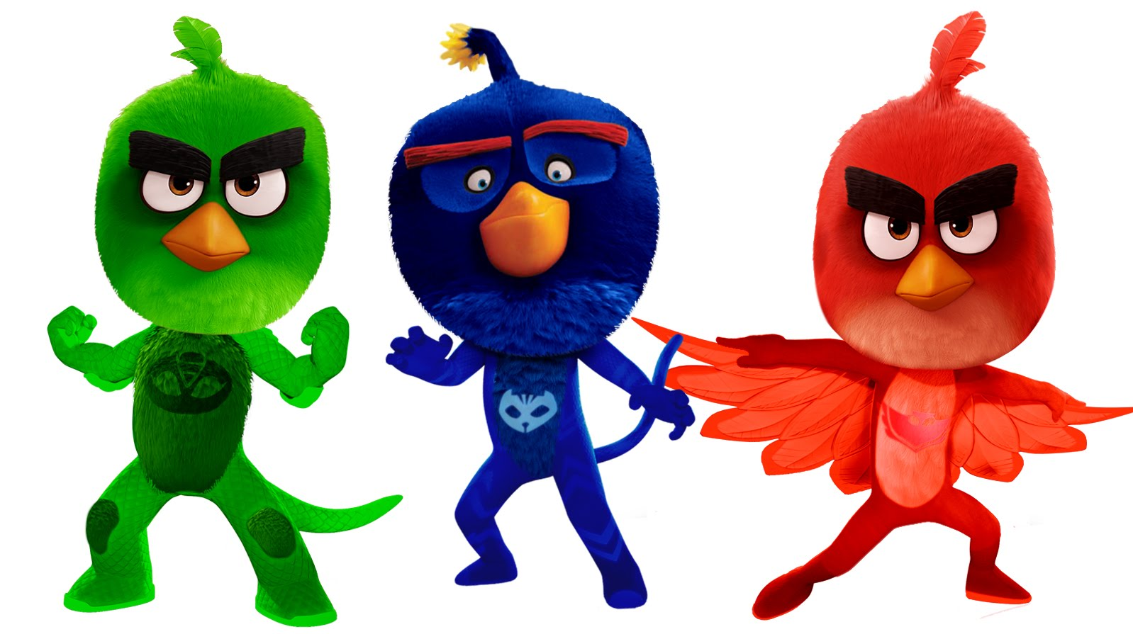 1598x895 PJ Masks Angry Birds Coloring Pages For Kids PJ Masks Coloring