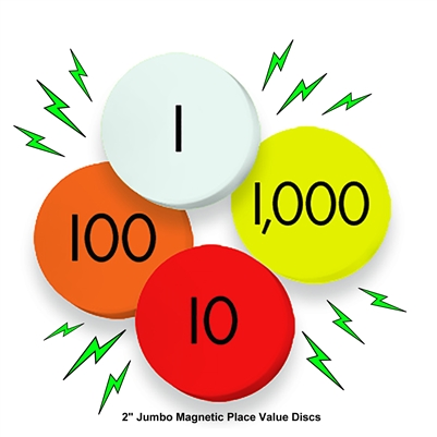 401x401 Sensational Math 4 Value Jumbo Magnetic Place Value Demonstration
