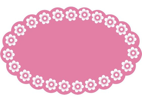 563x411 Flower Clipart Border Solid Color