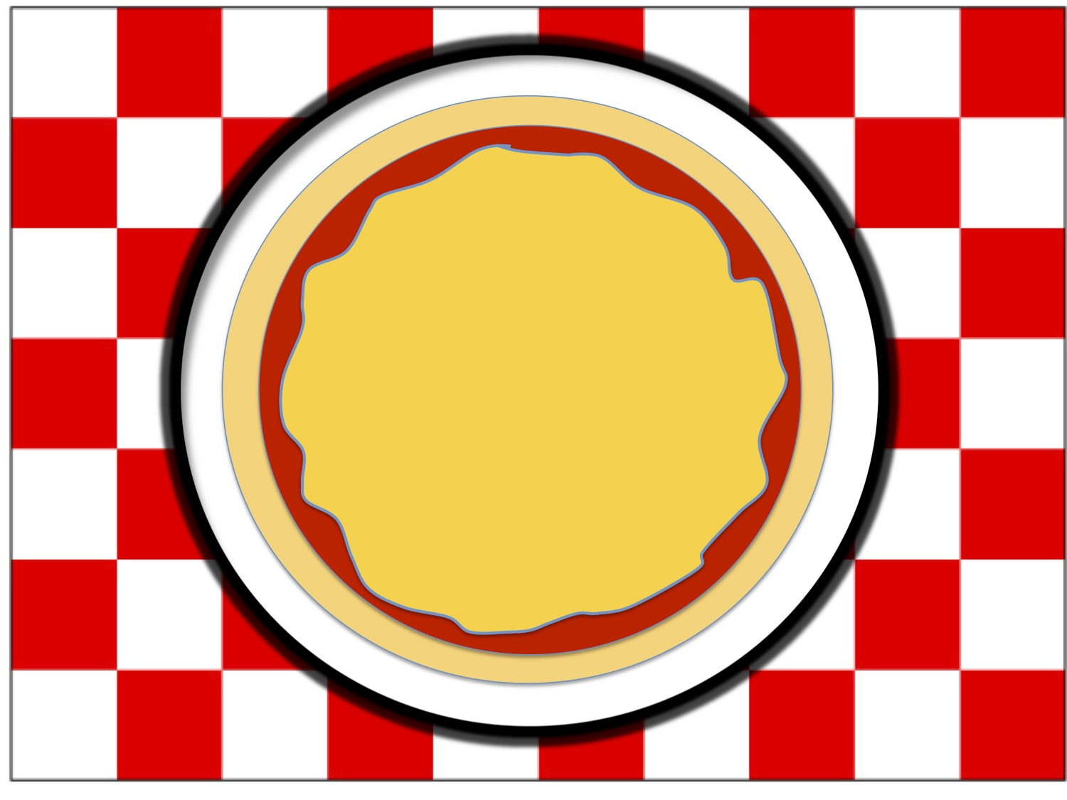 image about Printable Placemat Template named Placemat Clipart at  No cost for particular person seek the services of