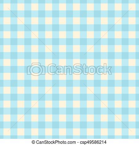 450x470 Blue Plaid Seamless Pattern. Cute Vector Background. Vector Clip
