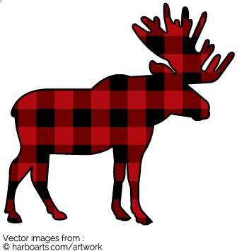 335x355 Download Plaid Moose