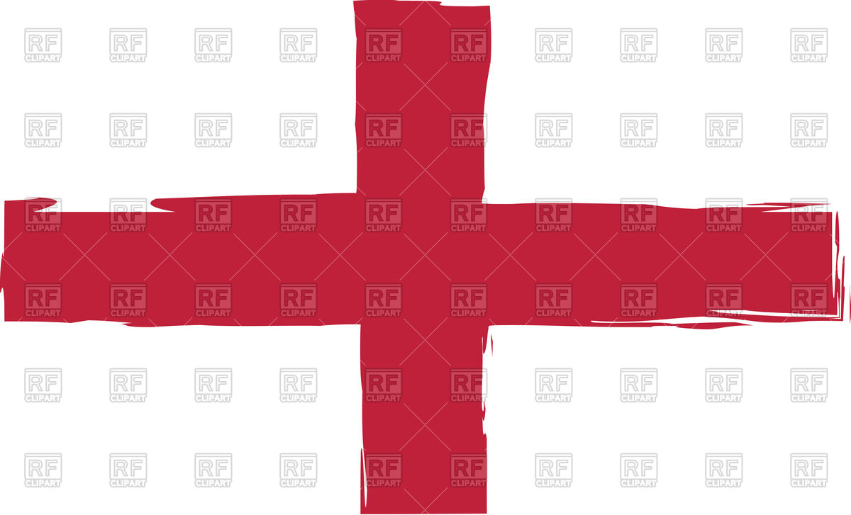 1200x727 Grunge England Flag Or Banner Royalty Free Vector Clip Art Image