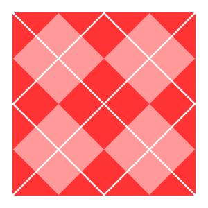 300x300 Pink Argyle Clip Art