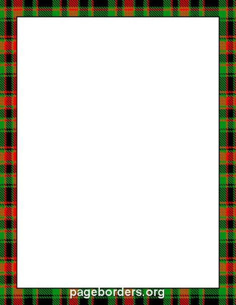 470x608 Tartan Border Backgrounds Tartan, Clip Art