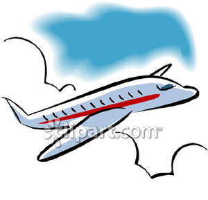 300x289 Flying Airplane Clipart Moving Flying Airplane Clipart 1