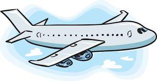 320x166 Cartoon Airplane Clip Art