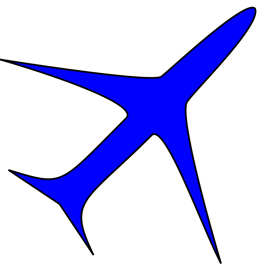 900x900 Clip Art Planes Clip Art